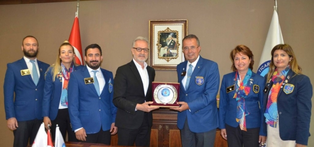 Rotary 2430. Bölge Guvernörü'nden İTSO'ya Ziyaret