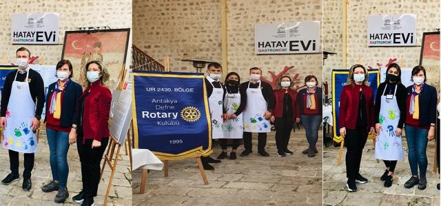 Rotary Kulübünden Otizm Farkındalık Etkinliği