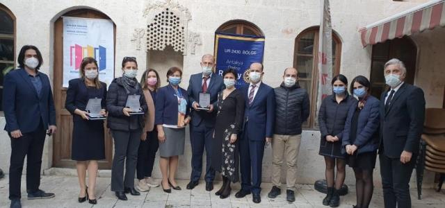 Rotary'den 'Aile ve Toplum Hizmet Ödülü'