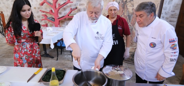 Rus Şeflerden Hatay Yemeklerine Tam Not