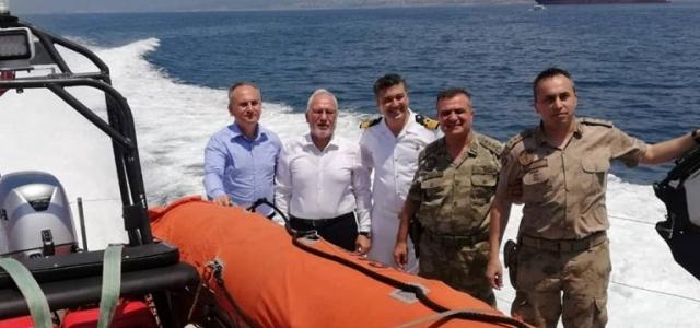 Sahil Güvenlik Komutanlığına Ziyaret
