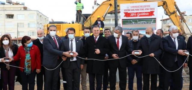 Samandağ Atatürk Sahil Parkı'nın Temeli Atıldı