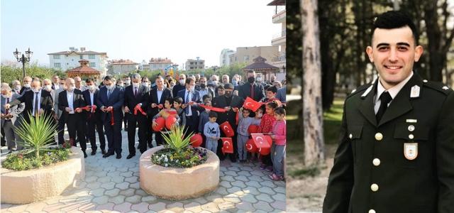 Şehit Ali Emre Fırıncıoğulları Parkı Açıldı