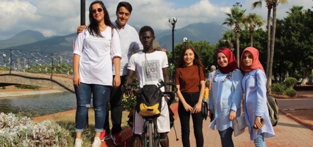 Senegalli Öğrenci Ndiaye 67 Gündür Türkiye Turunda
