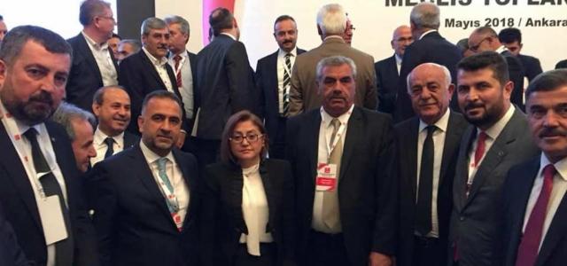 Seyfi Başkan Ankara'da TBB Toplantısına Katıldı