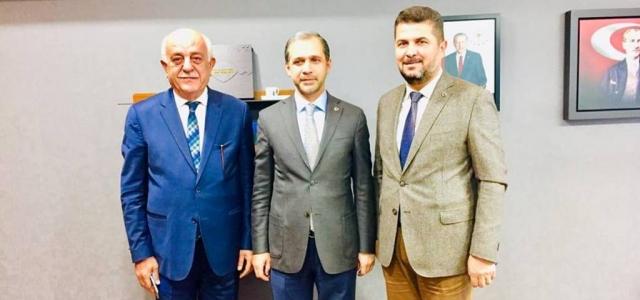 Seyfi Başkan'dan Milletvekili Özel'e Ziyaret