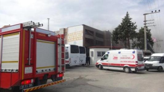 Sığınmacıların Kaldığı Yurtta Yangın
