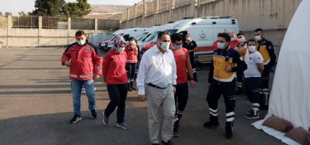 Sınır Hattındaki Kahraman Sağlıkçılara Ziyaret
