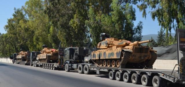 Tanklar Suriye Sınırına Gidiyor