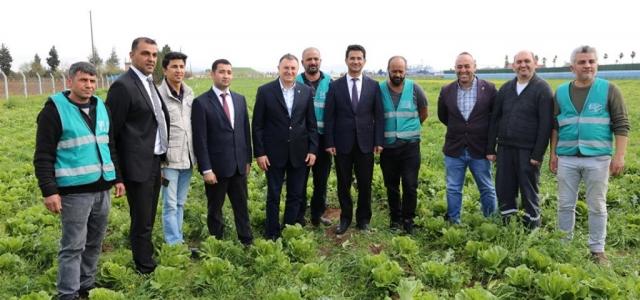 'Tarımla Rehabilitasyon' Projesi'nde İlk Hasat Mutluluğu