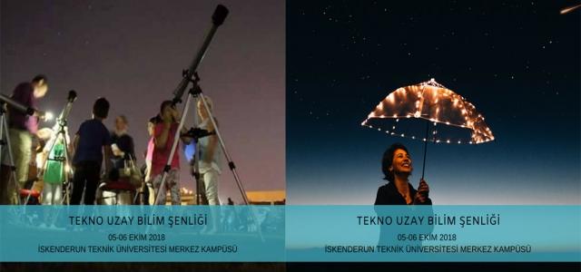TeknoUzay Bilim Şenliği İSTE'de!