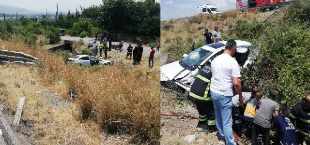 TEM Otoyolunda Kaza: 3 ölü, 2 yaralı