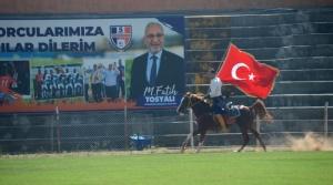5 Temmuz Stadı'nda Okçular Şov Yaptı