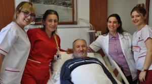 63 Yaşındaki Hasta Felç Kalmaktan Kurtuldu