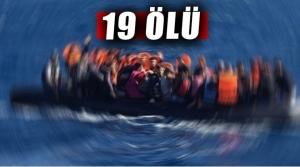 Akdeniz'de Mülteci Gemisi Battı: 19 ölü