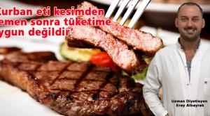Albayrak'tan Et Tüketimi Uyarısı!