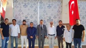 ARİAD Emniyet Müdürü Hasan Gün'ü Ağırladı