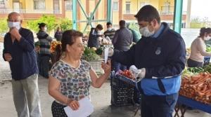 Arsuz Belediyesi'nden 'Ücretsiz Maske'