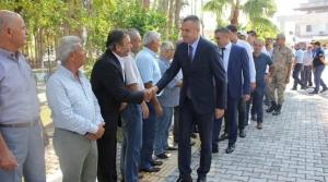 Arsuz'da Bayramlaşma Programı