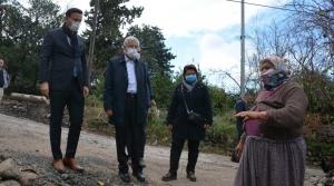 Arsuz'da Yağmurdan Etkilenen Mahallelere İnceleme