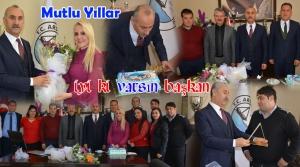 Başkan Culha'ya Doğum Günü Sürprizi!