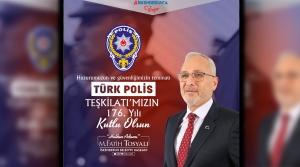 Başkan Fatih Tosyalı'dan Polis Haftası Mesajı