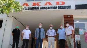 Başkan Tosyalı' dan Akad'a Ziyaret