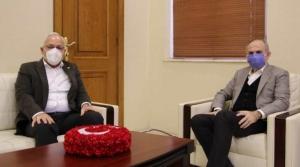 Başkan Tosyalı'dan Kaymakam Yönden'e Ziyaret
