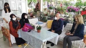 Başkan Tosyalı'dan Şehit Ailelerine Ziyaret