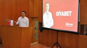 Doç. Dr. Akın Çam, Diyabetten Korunmanın Yollarını Anlattı