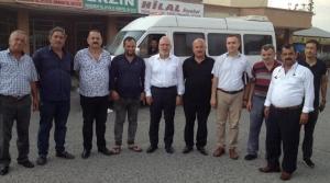 Fatih Tosyalı Şoför Esnafı ile Bir Araya Geldi