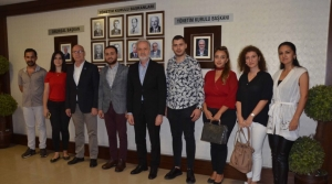 Genç MÜSİAD'tan İTSO'ya Ziyaret