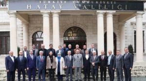 Genel Başkan Yardımcısı'ndan Vali Doğan'a Ziyaret