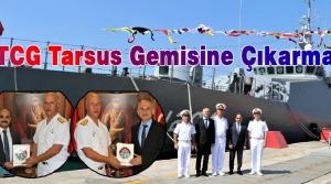 Gözbebeğimiz TCG Tarsus Gemisine Çıkarma