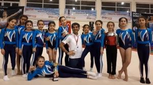 Hatay'da Artistik Jimnastikte İskenderun İmzası