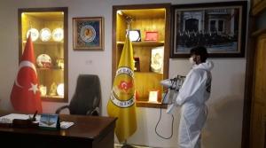 HGC Hizmet Binası Dezenfekte Edildi