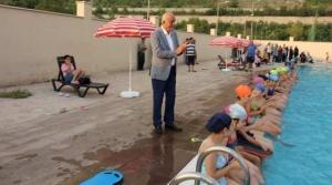 İskenderun Belediyesi Ücretsiz Yüzme Kursu Başladı