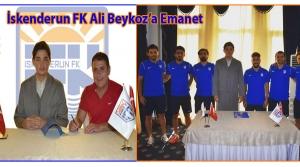 İskenderun FK Ali Beykoz'a Emanet