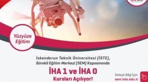 İSTE'de İHA0- İHA1 Pilot Ehliyet Kursu