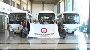 İSTE'li Öğrencilerden TEMSA'ya Teknik Gezi