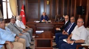 İTSO Yönetiminden Vali Erdal Ata'ya ziyaret