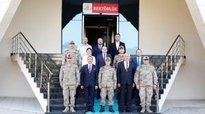 Jandarma Genel Komutanı'ndan İste'ye Ziyaret
