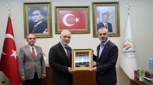 Kandemir'den Başkan Tosyalı'ya Ziyaret