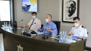 Kaymakamlıkta Sahil Güvenlik Bilgilendirme Toplantısı