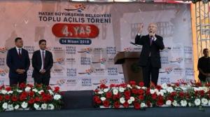Kılıçdaroğlu Hatay'dan Seslendi