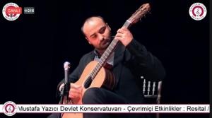Klasik Gitar Dinletisi Beğeniyle İzlendi