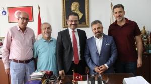 MHP Milletvekili Adayı İlhami Boşça'dan Mega'ya Ziyaret