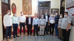 MHP'den İGC'ye Kutlama Ziyareti