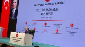 MHP'li Başkanlar Ankara'da Toplandı