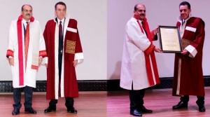 MKÜ'den Atakaş'a Fahri Doktora Unvanı